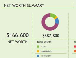 Net Worth Summary