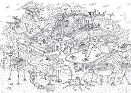 Boomhut Kleurplaat Wonderland By Alice