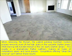 remove tile adhesive wood floor amazing of from concrete the best way to fabulous dust free phoenix removal system