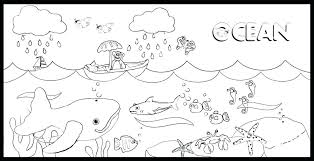 Coloring Pages Of Waves Waves Coloring Pages Wave Page Printable