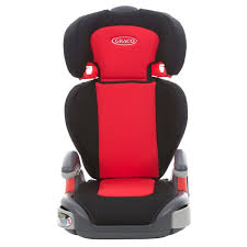 graco junior maxi group 2 3 car seat red black groups 4 11 years approx uk