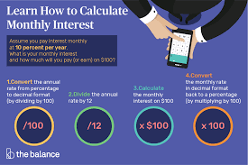 Estimate Credit Card Interest How To Calculate Monthly Interest