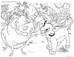 Small Picture Lion King Coloring Pages Freds Corner
