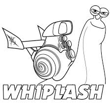 Small Picture Awesome Whiplash of Disney Turbo Coloring Page coloring pages