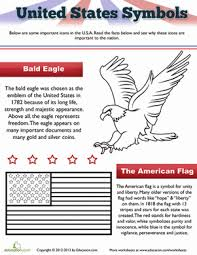 Small Picture The American Flag and Eagle Symbols Social studies and Worksheets