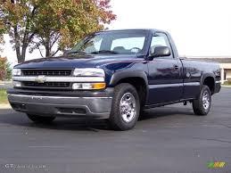Indigo Blue Metallic 2000 Chevrolet Silverado 1500 Regular Cab ...