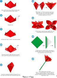 Easy Paper Origami Flower 30 Awesome Image Of How To Make An Origami Flower Easy