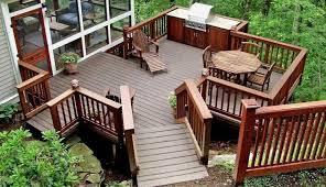 2018 wood deck installation s