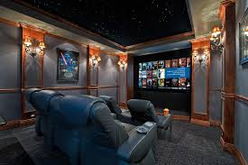 home theater step lighting. home theater contemporary with cup holder wall sconces wet bar step lighting m