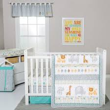 lullaby jungle 6 piece crib bedding set by trend lab lullaby jungle standard