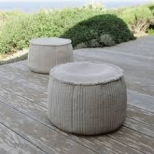 play ottoman is designed by francesco rota for paola lenti with padding made of polystyrene spheres encased in a polyester covering