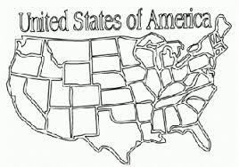 Usa Map Coloring Page Usa Map Coloring Page Plain Ideas United