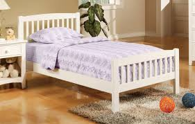 Simple Twin Size Wood Bed Frame — Wood Design