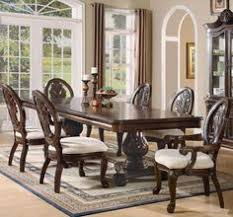 lowest on all coaster tabitha rectangular double pedestal dining table in dark cherry 101037