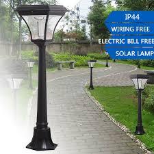 Solar Power Led Post Lights Super Bright Outdoor Waterproof Garden Solar Garden Post Lights