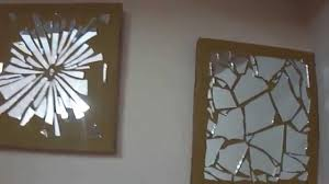 mosaic wall decor:  diy wall decor mirror mosaic