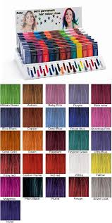 Stargazer Color Chart Stargazers Available Shades Of Hair Dye Hair Dyed Hair