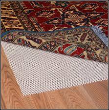 no slip rug pad for carpet rugs home decorating ideas non slip rug pad