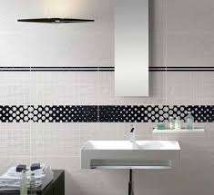 bathroom tiles black and white. Brilliant Black Simple Black And White Bathroom Tile For Backsplash Usage On Tiles And