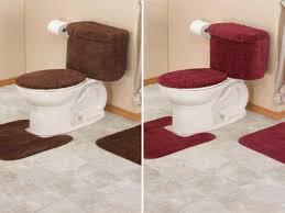bathroom tank sets for toilet 5 piece bathroom rug sets