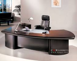 design of office table. AT-02-Luxury Boss Office Furniture Desk Set Design Of Table N