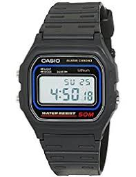 casio watches shop amazon uk casio collection men s watch grey digital display and resin strap w59 1v