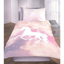 single duvet cover pink dream like a unicorn slogan galaxy print set liked on featuring home