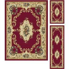 pictures gallery of brilliant three piece kitchen rug set kitchen rug sets