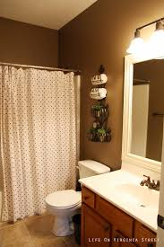 Brown Painted Bathrooms Small Bathroom Paint Colors Bathroom Pretty Brown And Blue