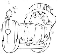 Small Picture Sleeping baby precious moments coloring pages Digital Stamps