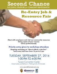 second chance re entry job resource fair jonathan rothschild second chance re entry job resource fair