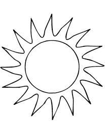 Sole Per Bambini Da Stampare E Da Colorare Disegni Da Colorare E