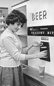 Female Vending Machine Cool Vintage Vending Machines You Never Knew Existed Daily Mail Online
