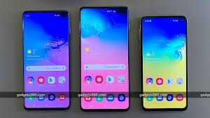 Samsung Galaxy S10 Vs Galaxy S10 Vs Galaxy S10e Price