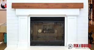 build a fireplace surround fireplace surround and mantel building fireplace surround over brick build a fireplace surround