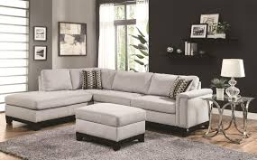Living Room With Sectional Living Room Livingroom Interior Contemporary Gray Sectional