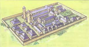 Средневековые монастыри История Реферат доклад сообщение  Средневековый монастырь