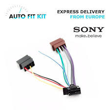 sony wiring harness car stereo 16 pin wire connector $2 39 picclick Sony Wiring Harness Colors sony 16 pin iso wiring harness loom adaptor wire radio connector lead new