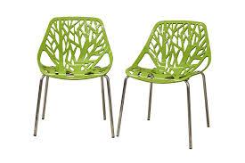 glamorous dining chair design ideas with baxton studio birch sapling with regard to glamorous modern plastic