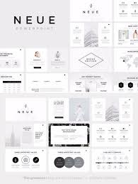 Neue Minimalist Powerpoint Template Random1 Desain Dan Brosur