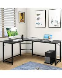Image Long Modern Luxe Lshaped Desk Corner Computer Table Study Writing Desk For Home Office Better Homes And Gardens Winter Shopping Special Modern Luxe Lshaped Desk Corner Computer