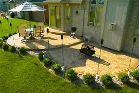 Concrete Patio Designs Ideas Pictures and 2017 Plans