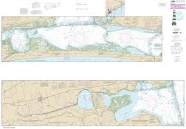 Noaa Chart 11452 Intracoastal Waterway Alligator Reef To Sombrero Key 11452