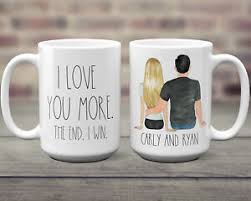 Expedited shipping does not affect the standard 5 day processing period. Valentines Day Gift For Him Personalized Valentine S Day Mug For Husband Custom Ebay