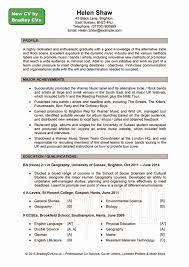 resume volunteer examples