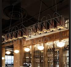 Industrial Style Steel Lighting Dining Room Living Room Bar Coffee Store Pendant Chandelier Light