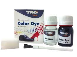 com trg the one self shine leather dye kit 118 black best er home kitchen