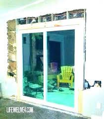 replacement sliding glass door cost marvelous cost to install new sliding glass door cost of sliding