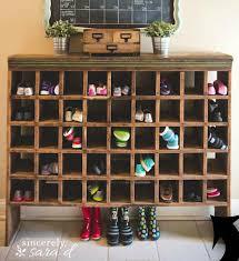 diy shoe shelf ideas. diy shoe cubby storage diy shelf ideas