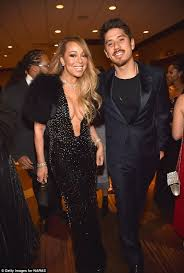 will their love carey on fur ever mariah 47 went braless in